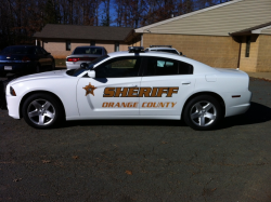 Orange County Sheriff patrol car